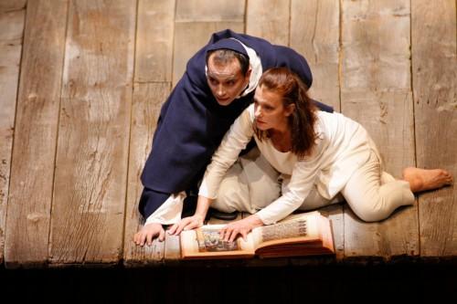 Isabel Karajan –Schauspielerin Jeanne d'Arc au bûcher, Teatro Colón in Buenos Aires