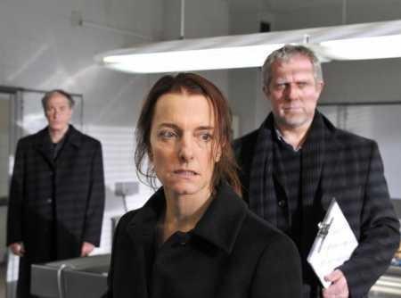 Isabel Karajan –Schauspielerin Tatort: Glaube, Liebe, Tod. Regie: Michi Riedl, mit Isabel Karajan als Sieglinde Kaber, 2010