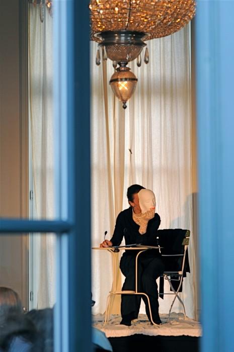 Isabel Karajan –Schauspielerin Kreutzersonaten,  Schauspielerin: Isabel Karajan, Koordination: Klaus Ortner, Foto: Giovanni Ausserhofer
