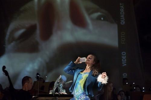 Isabel Karajan –Schauspielerin Peter und der Wolf, Von Sergej Prokofiev, Regie: Klaus Ortner, Schauspielerin: Isabel Karajan, Foto: Elia Roman