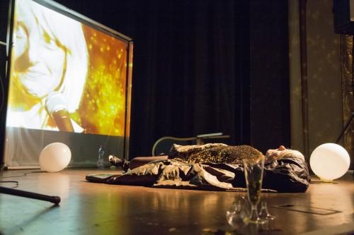 Isabel Karajan –Schauspielerin SommernachtstraumTraum, Regie: Christina Pfrötschner, Schauspielerin: Isabel Karajan, Foto: Elia Roman