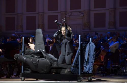 Isabel Karajan –Schauspielerin Ein Sommernachtstraum, Von Felix Mendelssohn-Bartholdy, Foto: Elia Roman